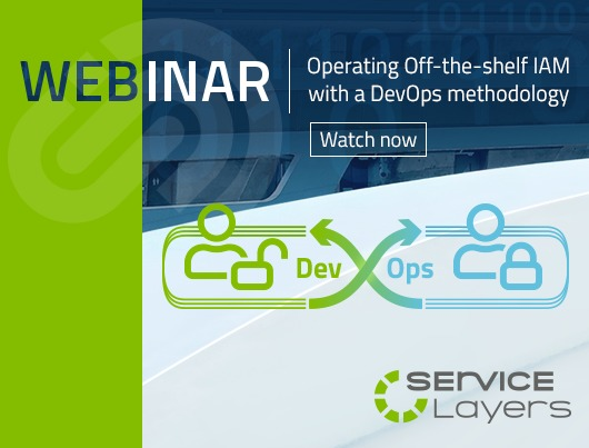 Webinar: Operating Off-the-shelf IAM with a DevOps methodology.