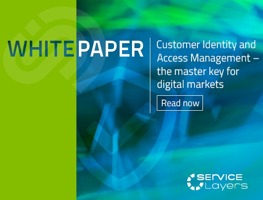 Whitepaper: Customer Identity and Access Management - the master-key for digital markets.