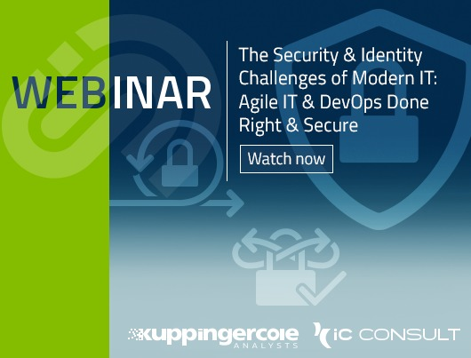 Webinar: The Security & Identity Challenges of modern IT - Agile IT & DevOps done right & secure